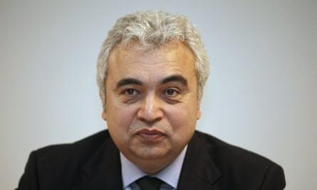 International Energy Agency (IEA) incoming executive director, Fatih Birol
