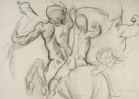 Studies by John Singer Sargent.