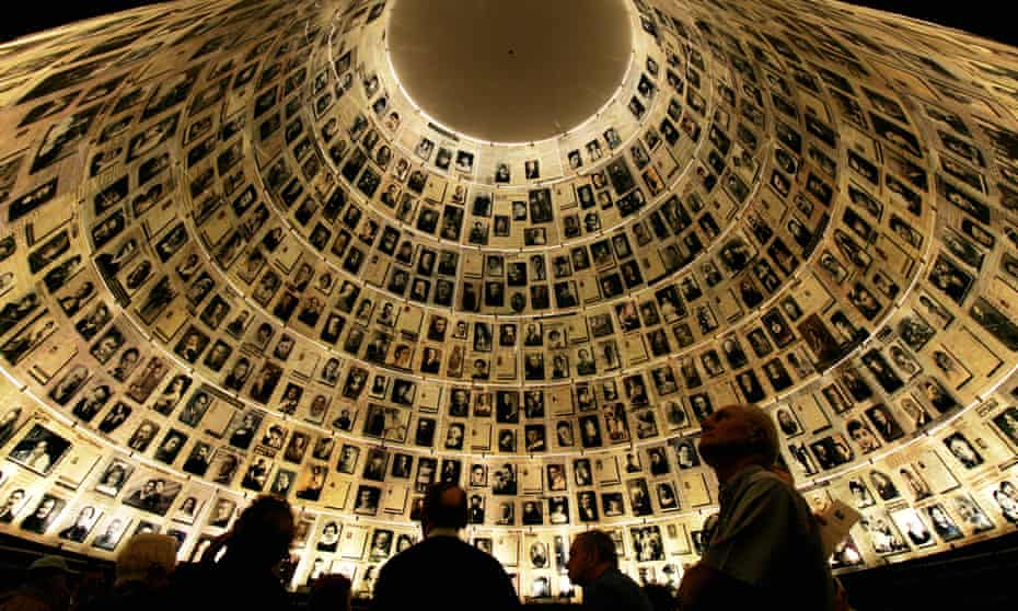 The Hall of Names at the Yad Vashem Memorial museum in Jerusalem.