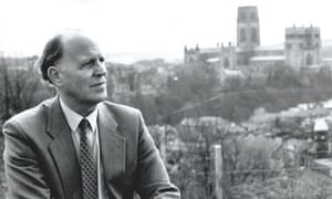 Peter Carr, seen here with Durham Cathedral in the background, worked diligently in roles across the north of England until his mid-80s, including chairing the Northern Regional Health Authority