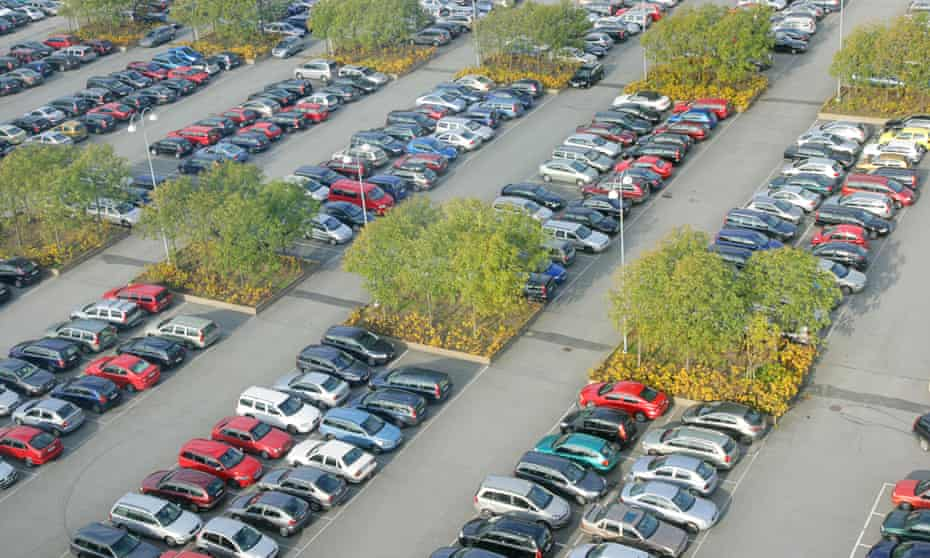 Cars are growing, but parking spaces are not keeping up
