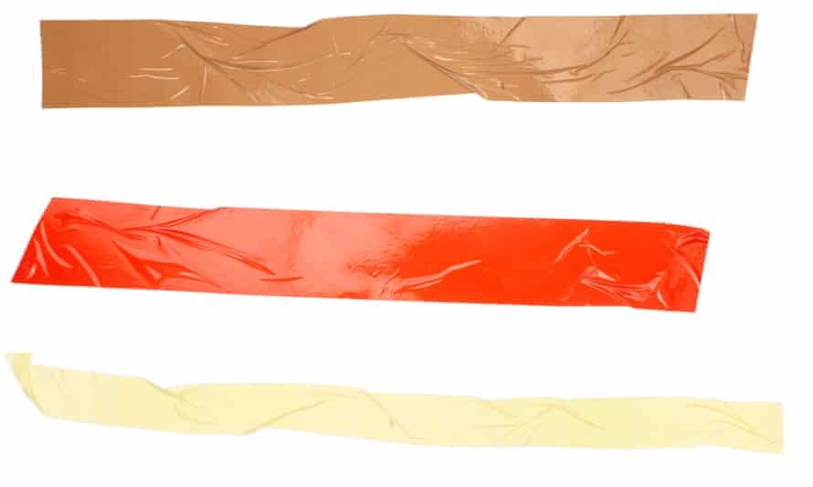 close up of sticky tape on white background<br>BPCM61 close up of sticky tape on white background