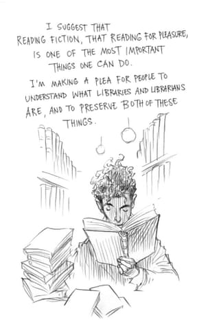 Page two of Neil Gaiman and Chris Riddell's book Art Matters. ART MATTERS by Neil Gaiman, illustrated by Chris Riddell is published by Headline on 6th September