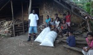 Kava farming village
