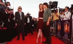 Nicole Kidman and Tom Cruise.