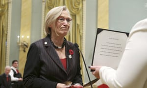 Canada's new Minister of Indigenous and Northern Affairs Carolyn Bennett is sworn-in during a ceremony at Rideau Hall in Ottawa<br>REFILE CORRECTING IDENTITY Canada's new Minister of Indigenous and Northern Affairs Carolyn Bennett is sworn-in during a ceremony at Rideau Hall in Ottawa November 4, 2015. REUTERS/Chris Wattie
