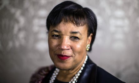 Patricia Scotland, Baroness Scotland of Asthal, poses for a photograph in Marlborough House on March 10, 2016 in London, England.