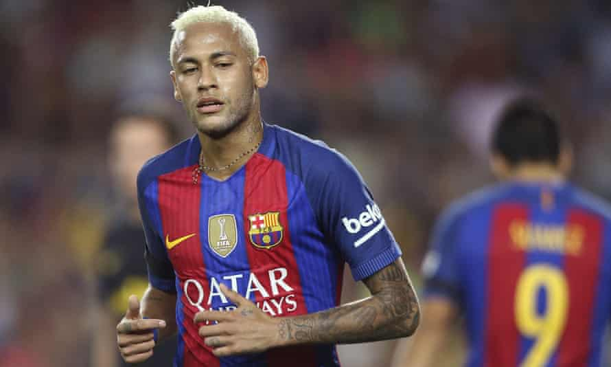 Neymar da Silva Santos Jr of Barcelona.