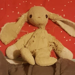 My toy bunny by Ilse, eight