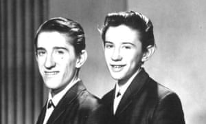 The Chuckle Brothers in 1965.