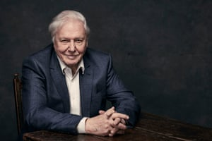 Sir David Attenborough, who fronts the new series