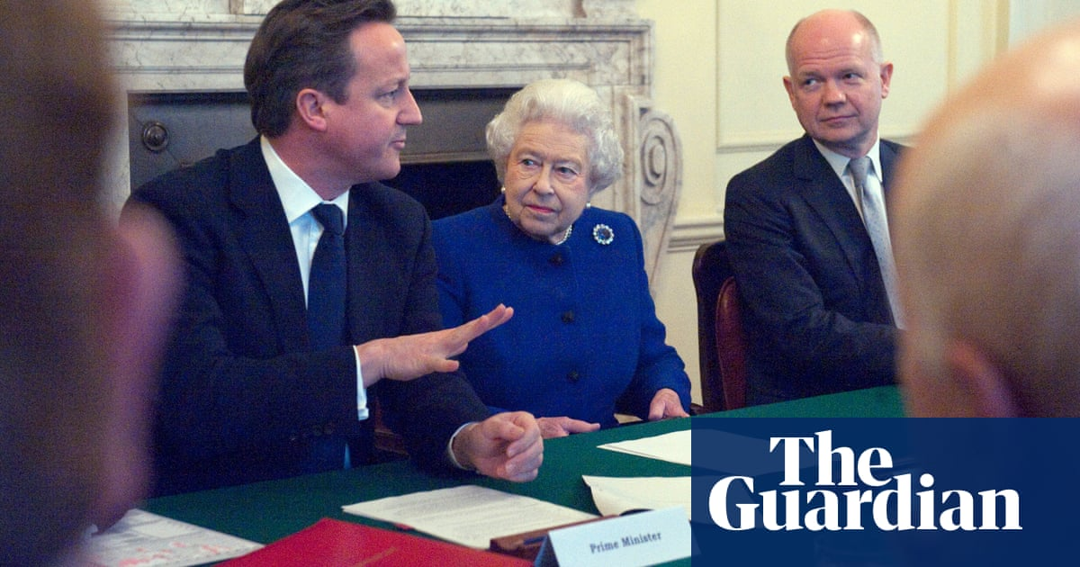 David Cameron sought intervention from Queen on Scottish independence