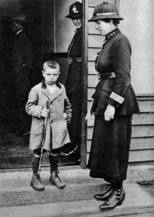 Child and officer