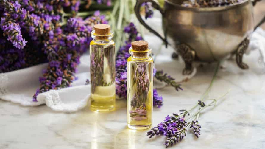 'I run lavender oil on my wrists and temples before I go to bed.'