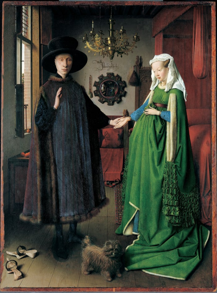 1a14f66d2 Why I love the Arnolfini Portrait, one of art history's greatest riddles |  Hannah Gadsby | Culture | The Guardian