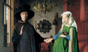 The Arnolfini Portrait (1434) by Jan van Eyck.
