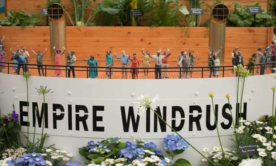 'They couldn't see the importance of it' … Benjamin's contribution to the Chelsea Flower Show.