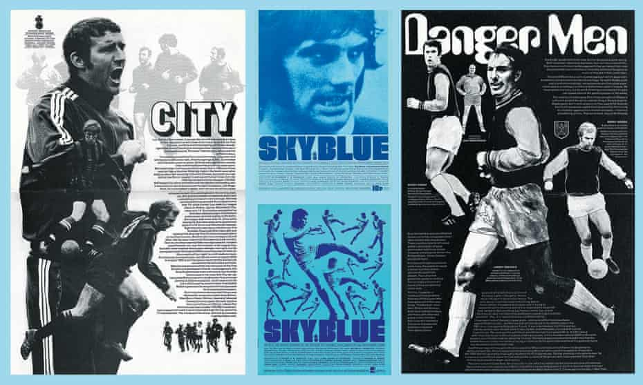 John Elvin's work for Sky Blue, the Coventry City matchday programme.