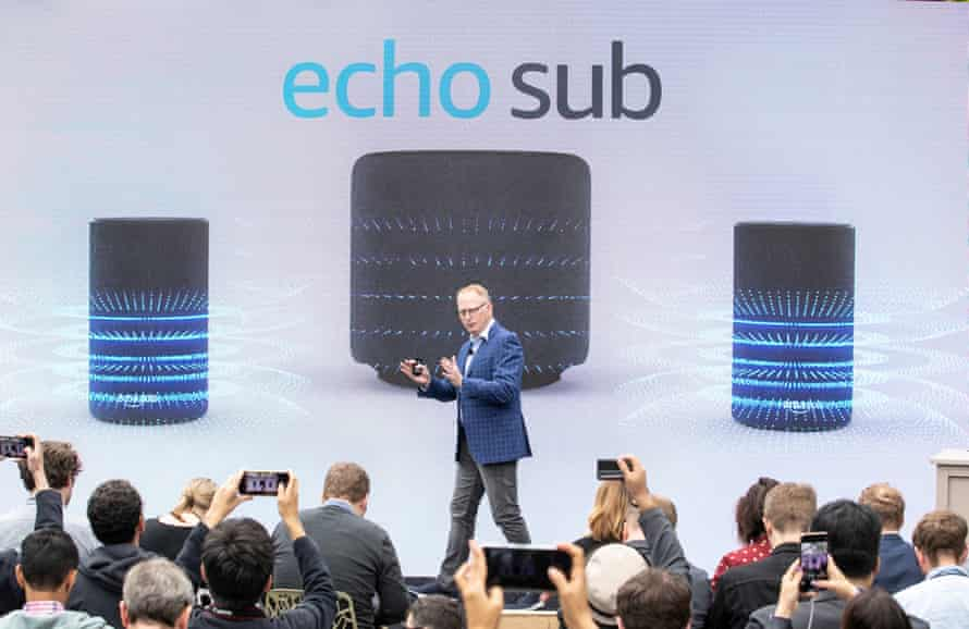 Dave Limp, senior vice-president of Amazon Devices, at a product launch in Seattle