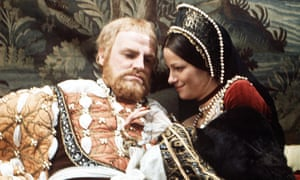 Keith Michell with Charlotte Rampling in Henry VIII and His Six Wives (1973).
