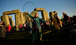 Celebrations in full swing at Stonehenge
