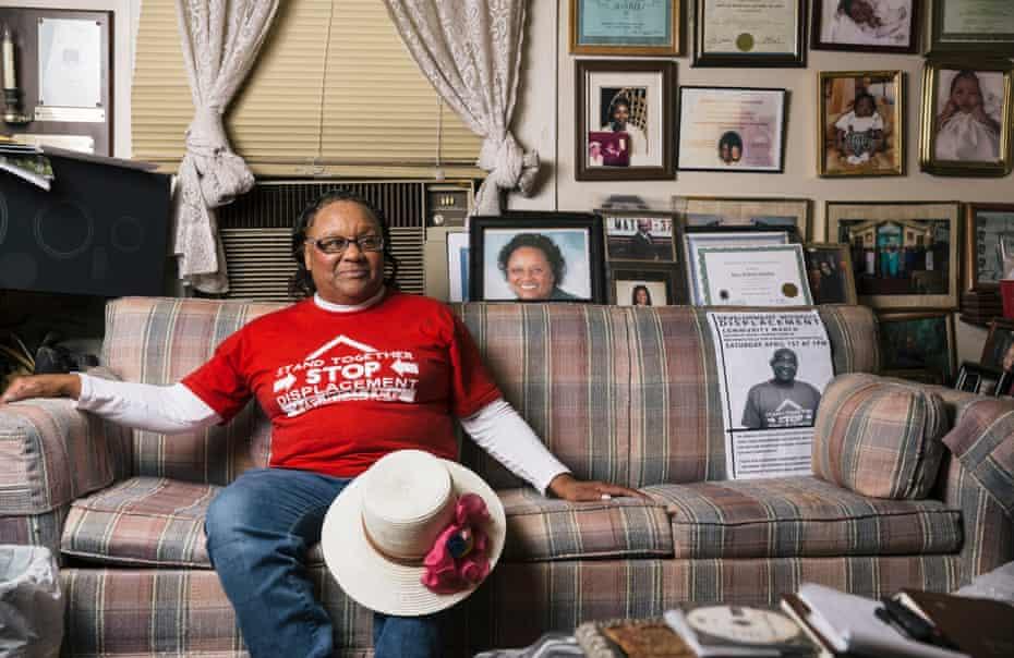 Bertha Darden, 62, in her Peoplestown home.