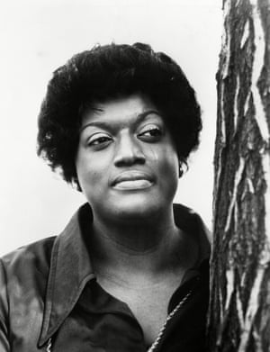 Opera singer Jessye Norman pictured in about 1982
