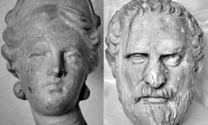 Aphrodite and Demosthenes … more looky-likies for Tim Dowling.