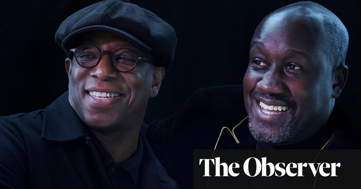 'Kids need two things – love and education': how Ian Wright and Musa Okwonga are inspiring young people through fiction