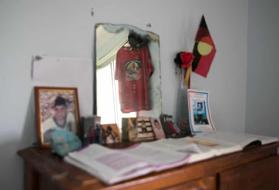 David Dungay's room