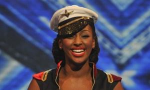 Alexandra Burke on The X Factor
