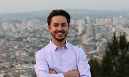 Juliano Nixon, a 28-year-old socialist, is running for office in the southern state of Santa Catarina.