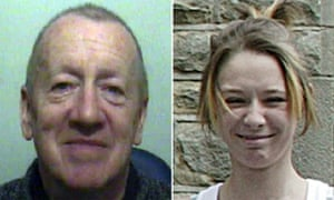 Robert Ewing, left, who was sentenced to life imprisonment for the murder of Paige Chivers.