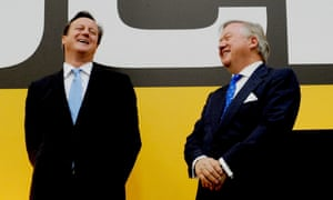 David Cameron and Lord Bamford