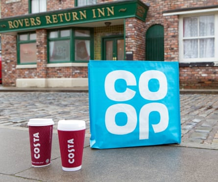 Costa Co-op Coronation Street