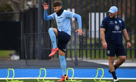 Miloš Ninković in race to prove A-League grand final fitness