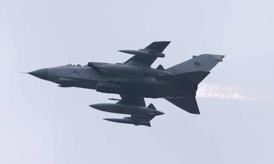 An RAF Tornado aircraft