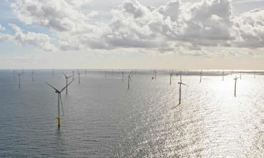 The Gemini windpark, a 150-turbine installation in the North Sea.