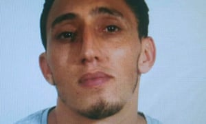 A handout photo made available by Spanish national police of Driss Oukabir.