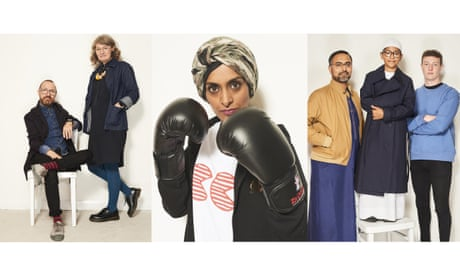 Social networking: meet the community around Blackburn's Community Clothing – in pictures