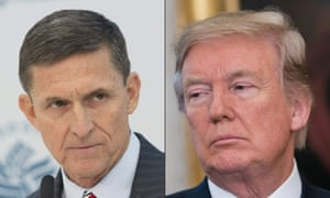 Michael Flynn and Donald Trump