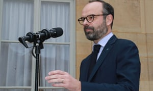 The French prime minister, Edouard Philippe, says a no-deal Brexit is 'less and less unlikely'.