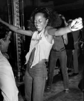 Diana Ross in 1975.