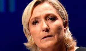 Marine Le Pen argues she posted the images after a journalist compared her party to the jihadi group.