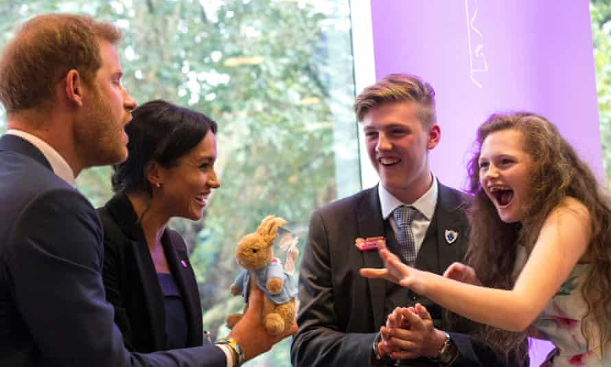 The Duke and Duchess of Sussex at the WellChild awards last year.