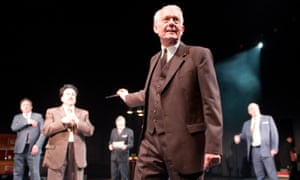 William Hoyland in Michael Frayn's play Democracy at the Old Vic, 2012.