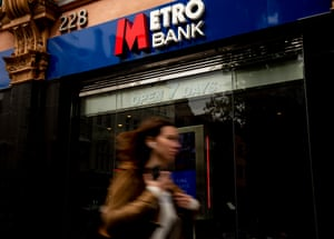 Metro Bank on Tottenham Court Road