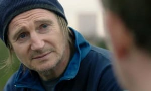 Liam Neeson as God in Rev.