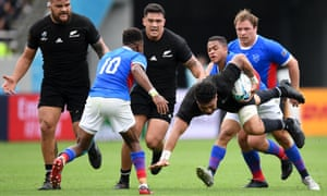 Rugby World Cup, NZ v Namibia