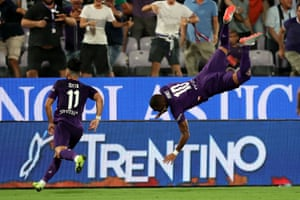 A spectacular celebration from Kevin-Prince Boateng.